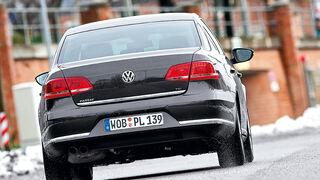 0111, ams 02/2011, VW Passat 1.8 TSI Limousine