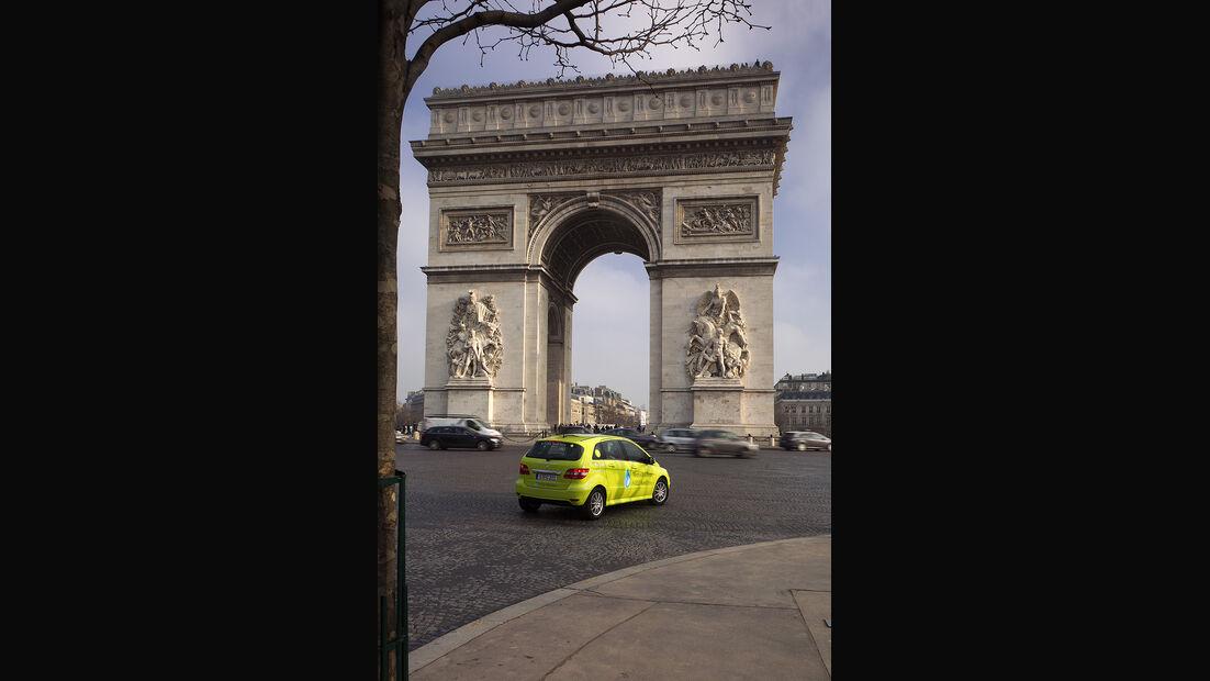 02/11 Mercedes F-Cell World Drive, 2. Etappe