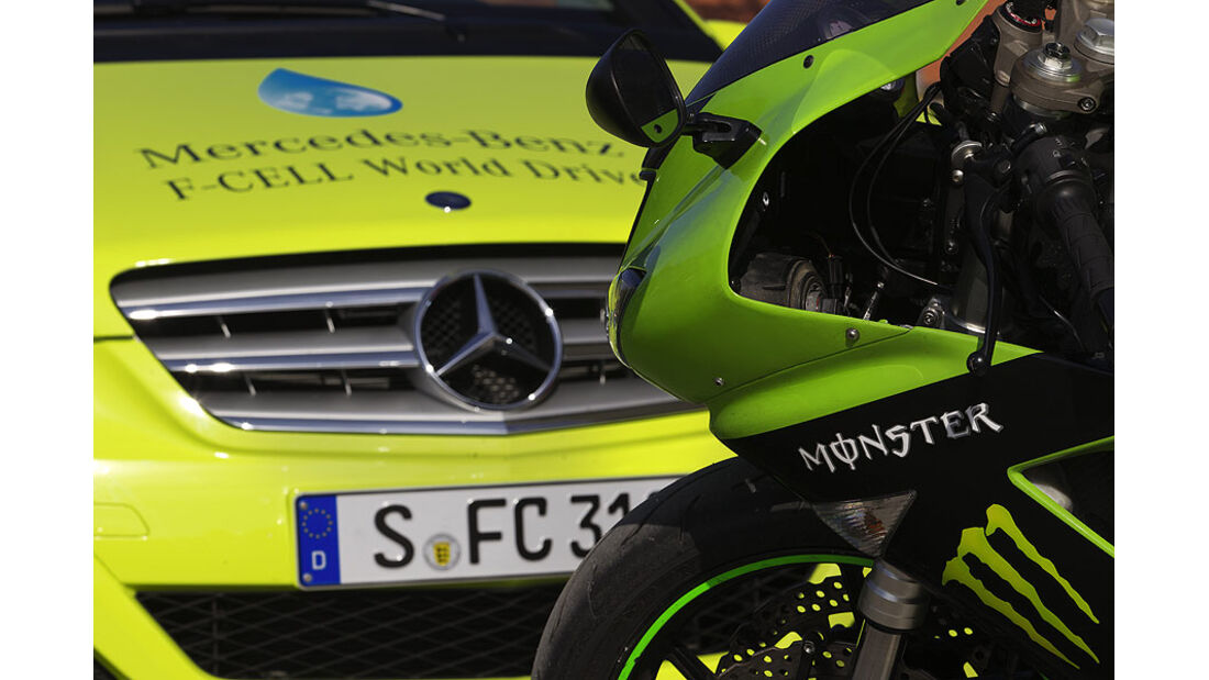 02/11 Mercedes F-Cell World Drive, Mercedes B-Klasse, 8. Etappe