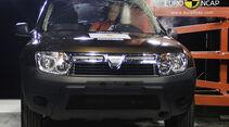 02/2011, EuroNCAP, Crashtest, Dacia Duster, Seitencrash