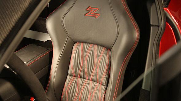 02/2012 Aston Martin V12 Zagato, Sitz