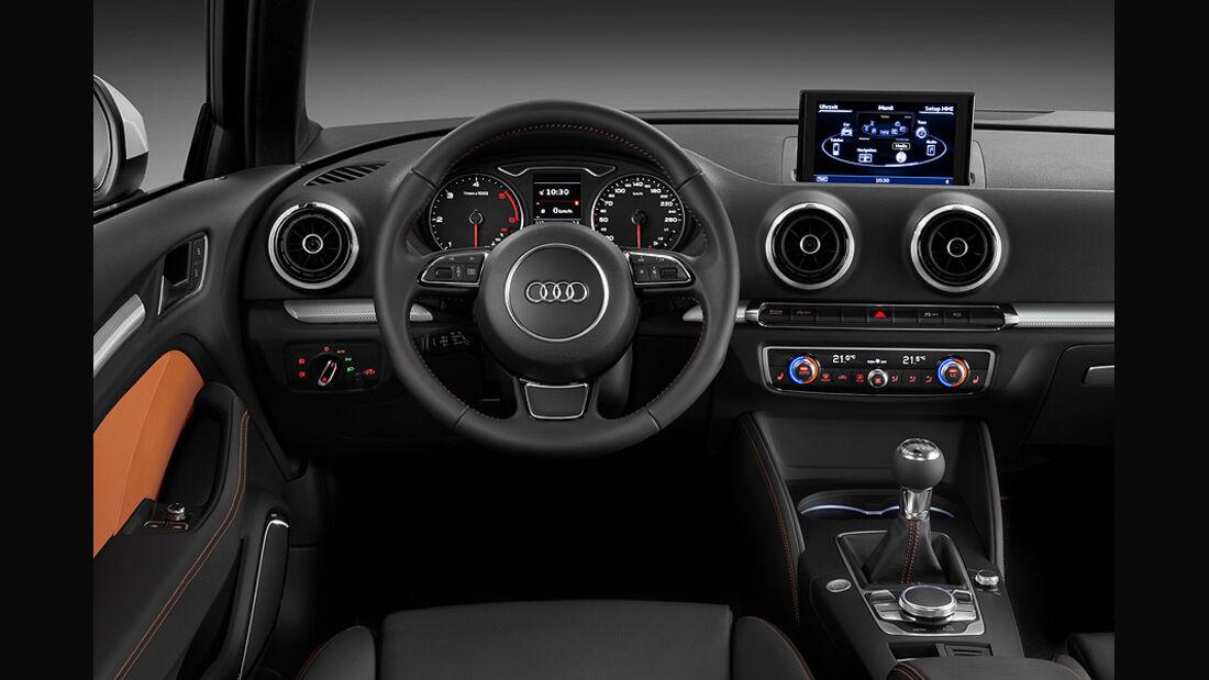 02/2012 Audi A3 , Innenraum Cockpit
