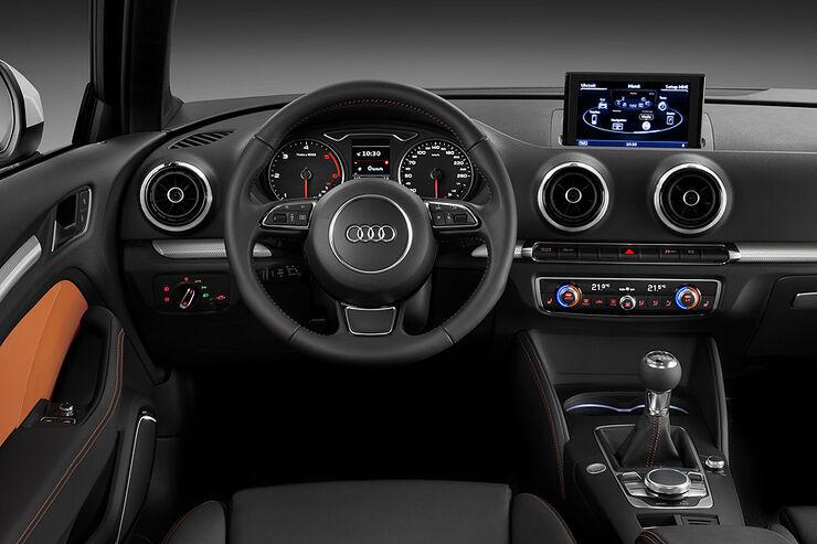 Neuer Audi A3 Auf Dem Autosalon Genf Stoßrichtung Oberklasse Auto