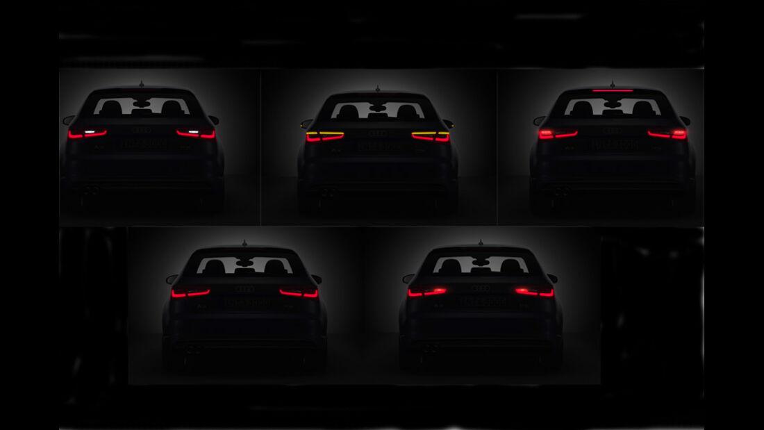 02/2012 Audi A3 , LED-Licht hinten