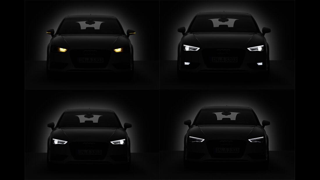 02/2012 Audi A3 , Xenon-Licht vorne