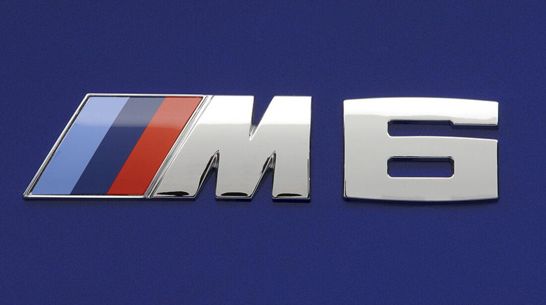 02/2012 BMW M6 Cabrio, M6 Logo Schriftzug