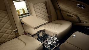 02/2012 Bentley Mulsanne, Innenraum, Bar