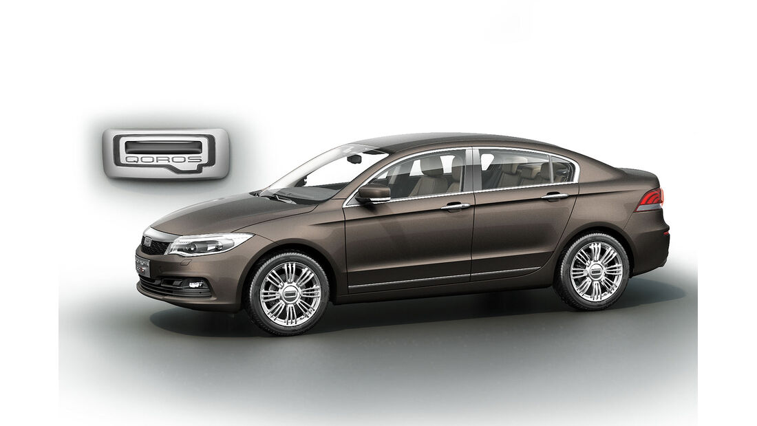 02/2013, Qoros 3 Sedan