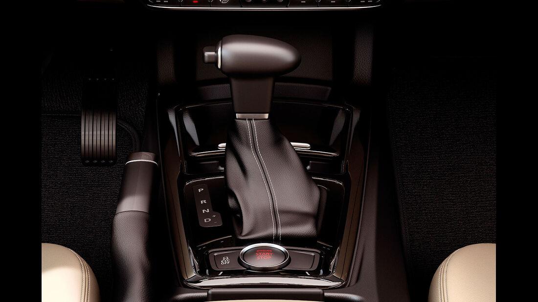02/2013, Qoros 3 Sedan, Doppelkupplungsgetriebe