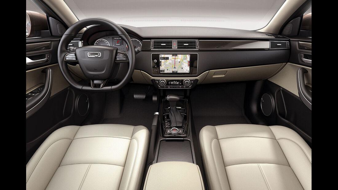 02/2013, Qoros 3 Sedan, Innenraum