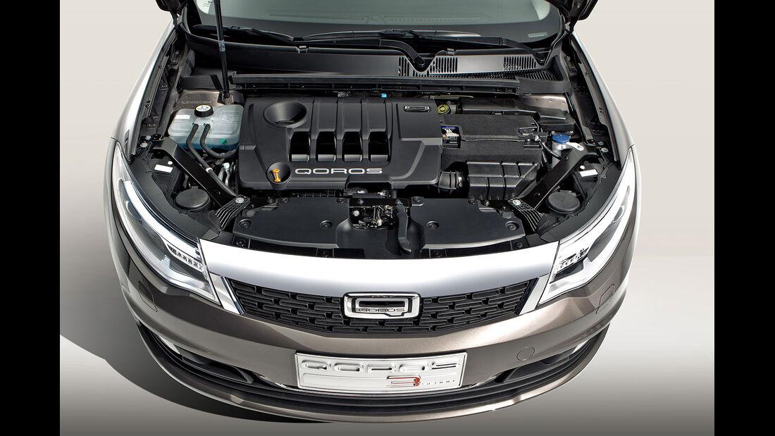 02/2013, Qoros 3 Sedan, Motor