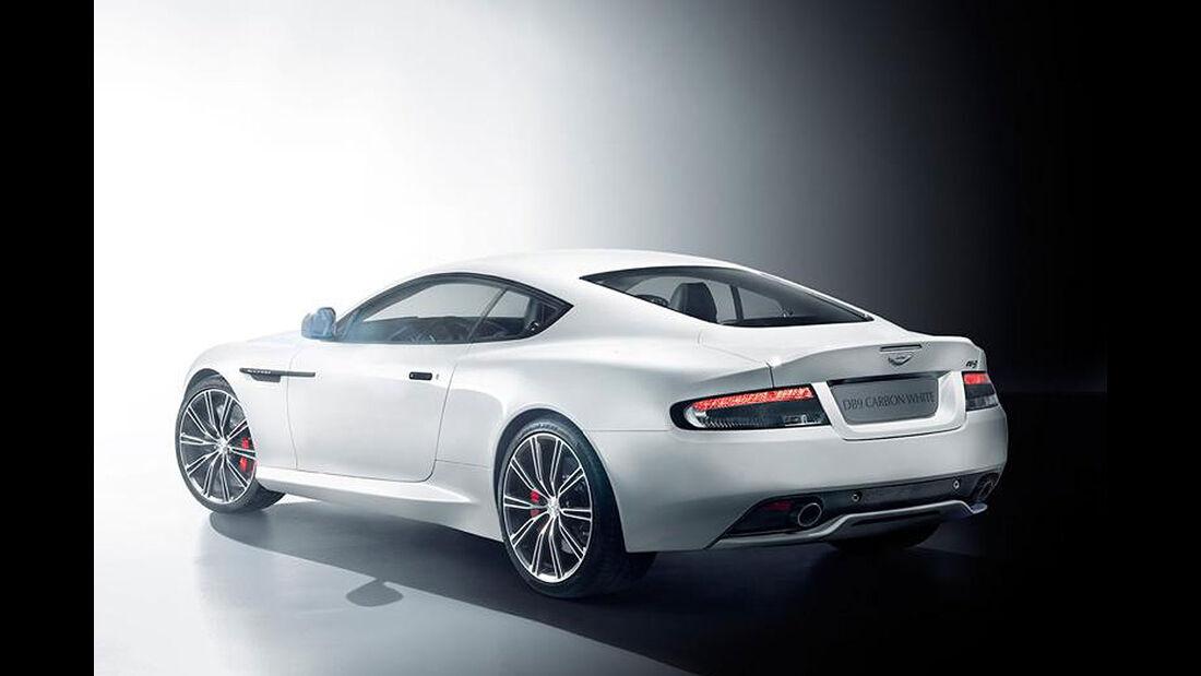 02/2014, Aston Martin DB9 Carbon Black & White