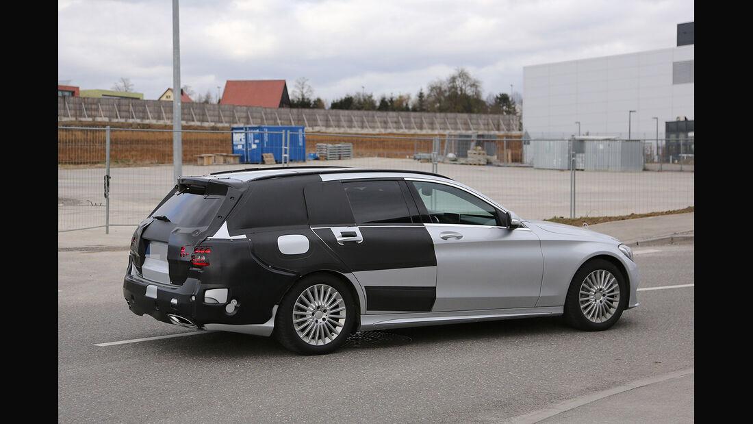 02/,2014,Erlkönig,Mercedes Benz C-Klasse T-Modell