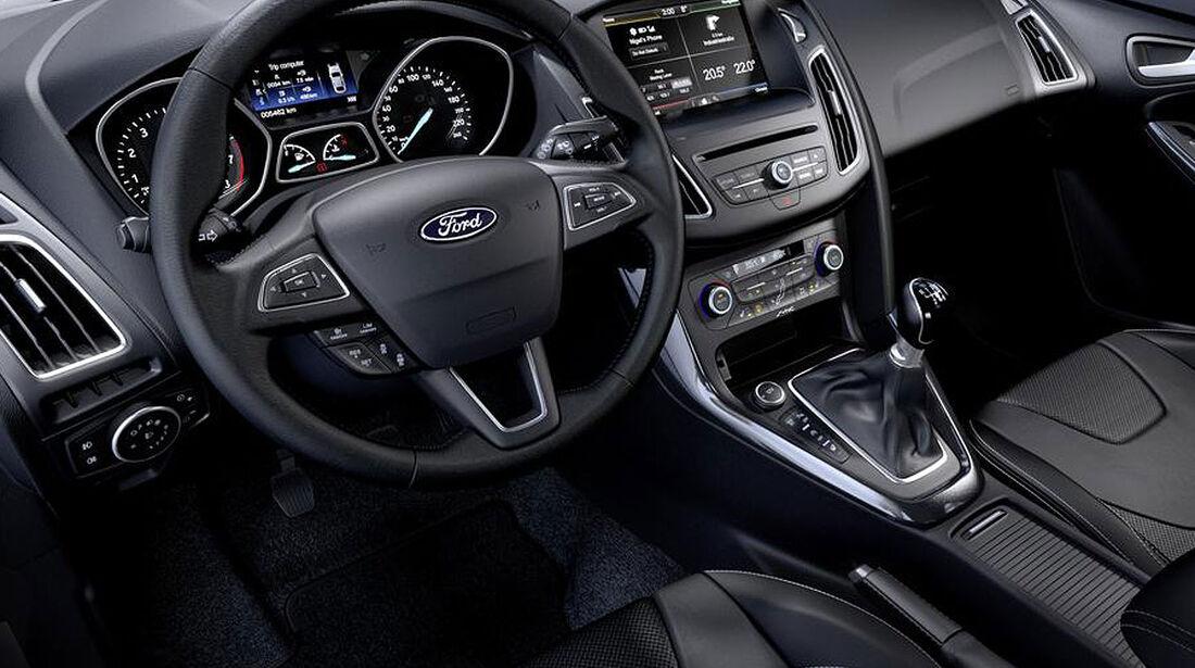02/2014, Ford Focus Facelift, Innenraum
