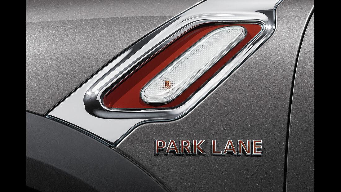 02/2015 Mini Countryman Park Lane 3.3. Sperrfrist