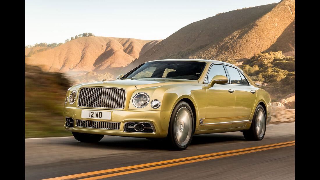 02/2016 Bentley Mulsanne 23.2.2016 Sperrfrist Speed