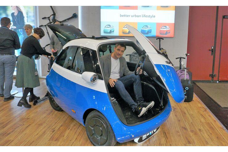 Microlino Elektro Isetta Ab Herbst 2019 In Deutschland Auto Motor