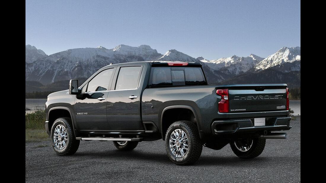 02/2019, 2020 Chevrolet Silverado 2500HD
