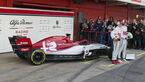 02/2019 Sauber C38 – Formel 1 – Barcelona - 2022