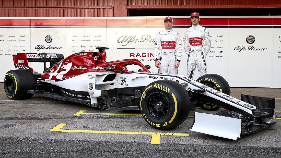 02/2019 Sauber C38 – Formel 1 – Barcelona - 2044