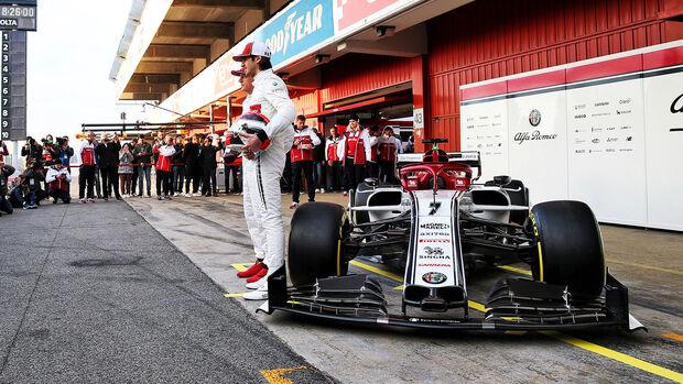 02/2019 Sauber C38 – Formel 1 – Barcelona - 2045