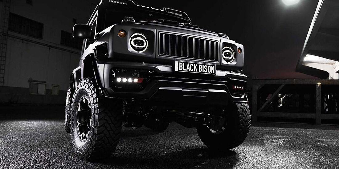 02/2019, Wald International Suzuki Jimny Black Bison Edition
