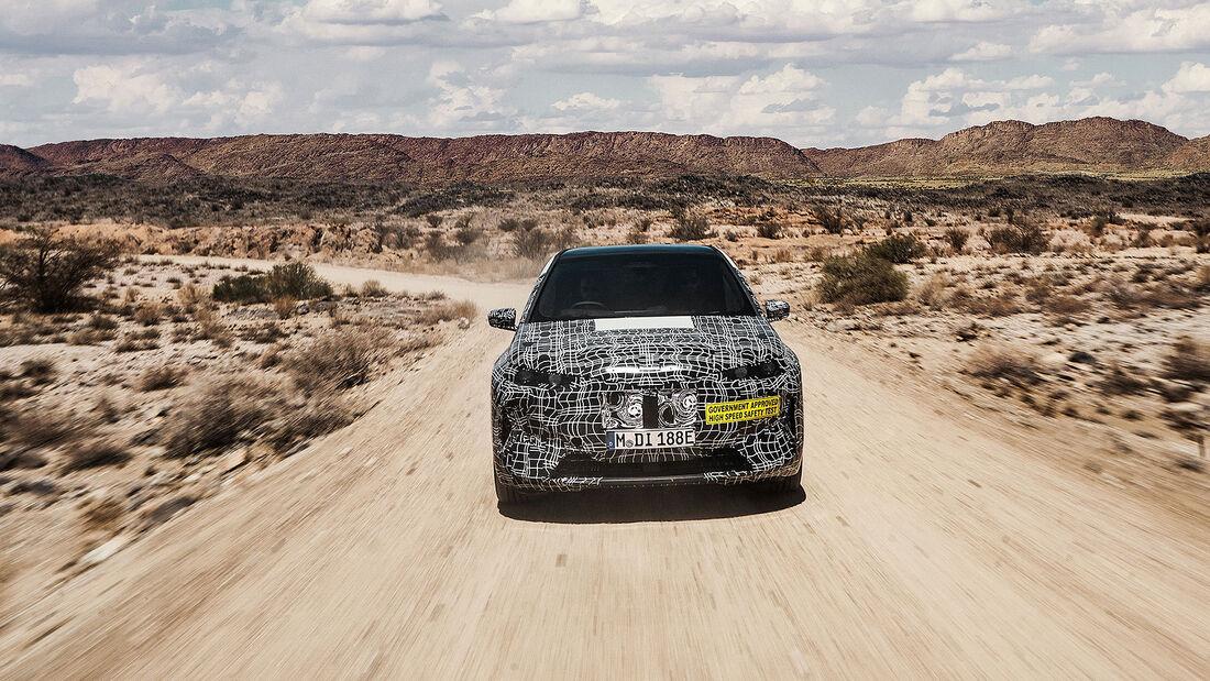 02/2020, BMW iNext in Südafrika