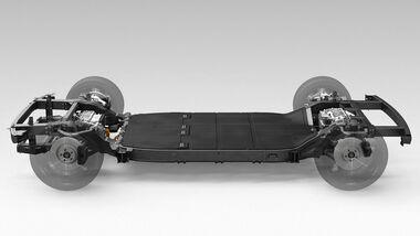 02/2020, Canoo Skateboard-Plattform für Elektroautos