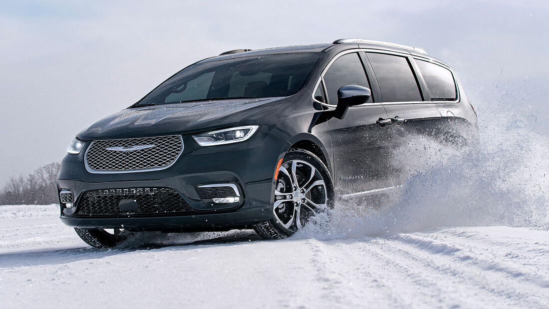 02/2020, Chrysler Pacifica Modelljahr 2021