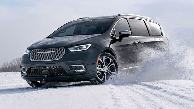 02/2020, Chrysler Pacifica Modelljahr 2021