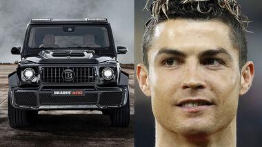 02/2020, Cristiano Ronaldo mit Brabus Widestar 800