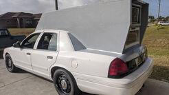 02/2020, Ford Crown Victoria mit Camping-Ausbau