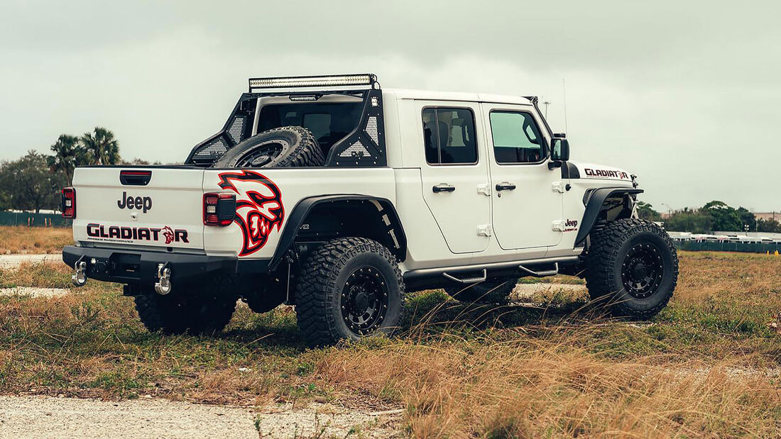 02/2020, Jeep Gladiator mit Hellcat-Motor