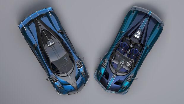 02/2020, Pagani Imola und Huayra BC Roadster