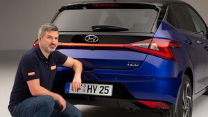 02/2020, Peter Wolkenstein mit dem neuen Hyundai i20
