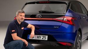 02/2020, Peter Wolkenstein mit dem neuen Hyundai i20