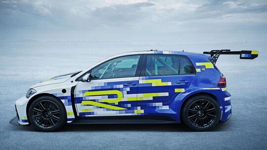 02/2020, VW Golf eR1 Elektro Konzeptstudie