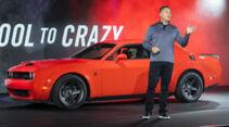 02/2021, Dodge Chef CEO Tim Kuniskis Challenger Hellcat