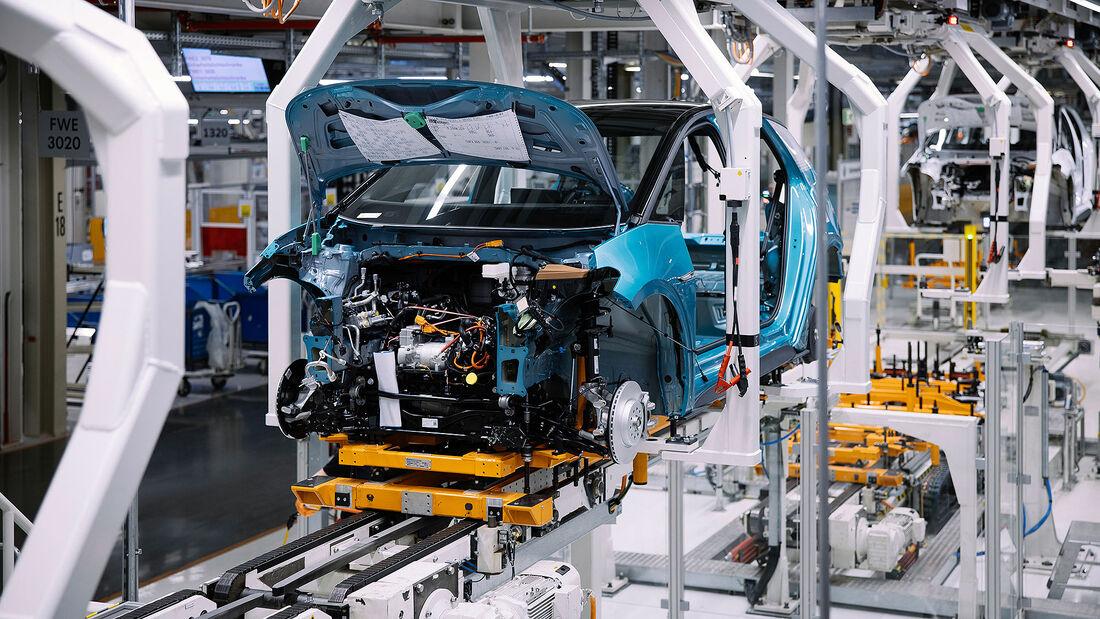 02/2021, VW ID.3 Produktion Werk Zwickau