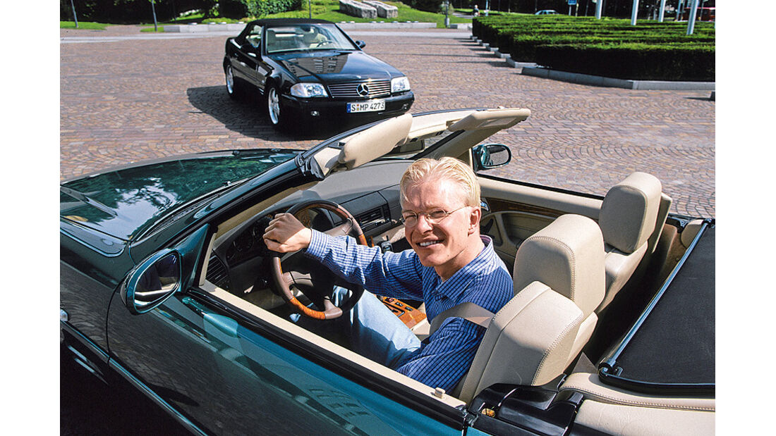 03/11 Auto-Biografie Christian Bangemann, Mercedes SL