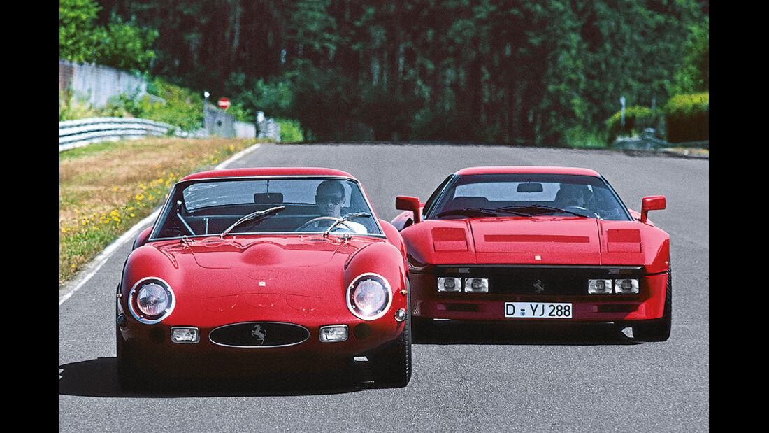 03/11 Auto-Biografie, Werner Schruf, Ferrari GTO