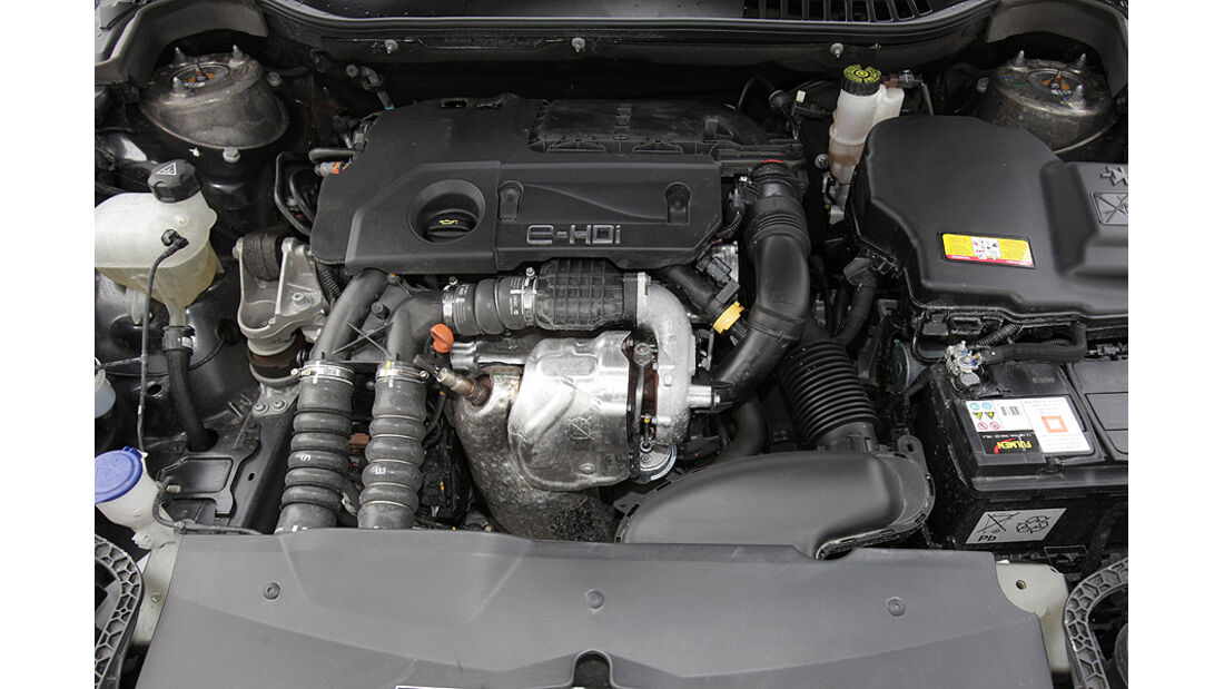 03/11 Citroen C5 Tourer E-HDi 110 Airdream, Motor