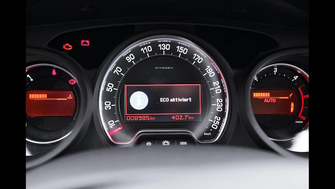 03/11 Citroen C5 Tourer E-HDi 110 Airdream, Tacho, Start-Stopp-System