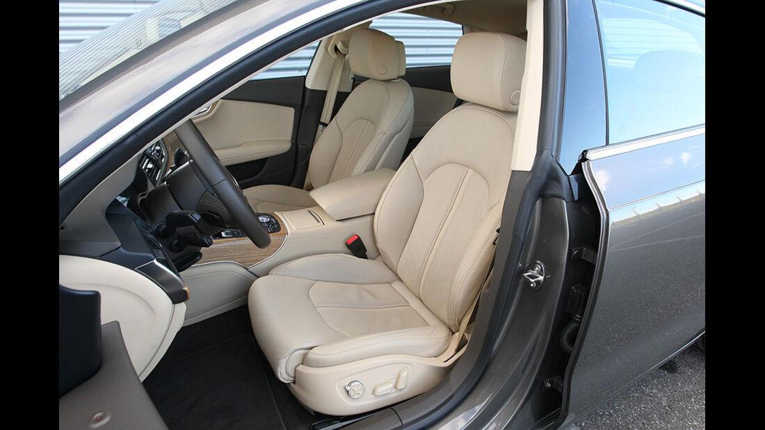 03/11 aumospo 07/2011 Audi A7 3.0 TFSI Quattro, Innenraum