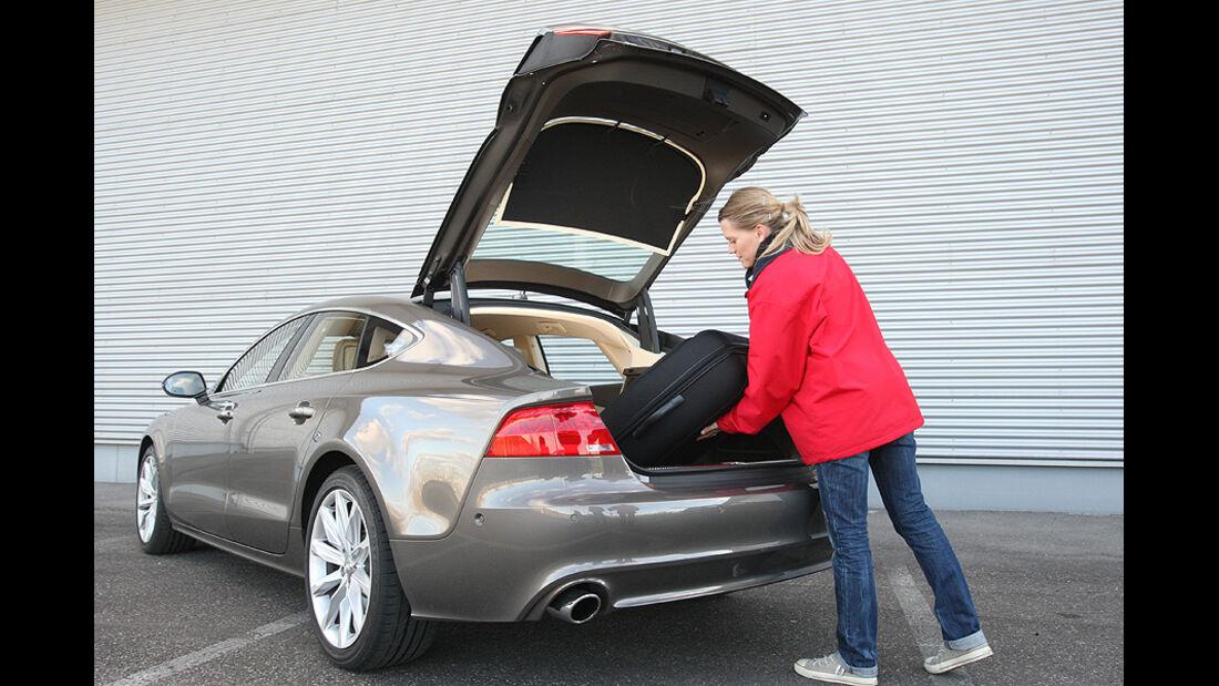 03/11 aumospo 07/2011 Audi A7 3.0 TFSI Quattro, Kofferraum