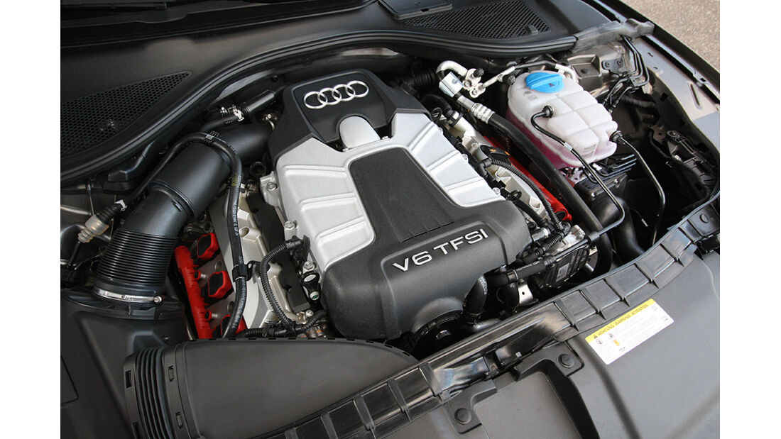 03/11 aumospo 07/2011 Audi A7 3.0 TFSI Quattro, Motor