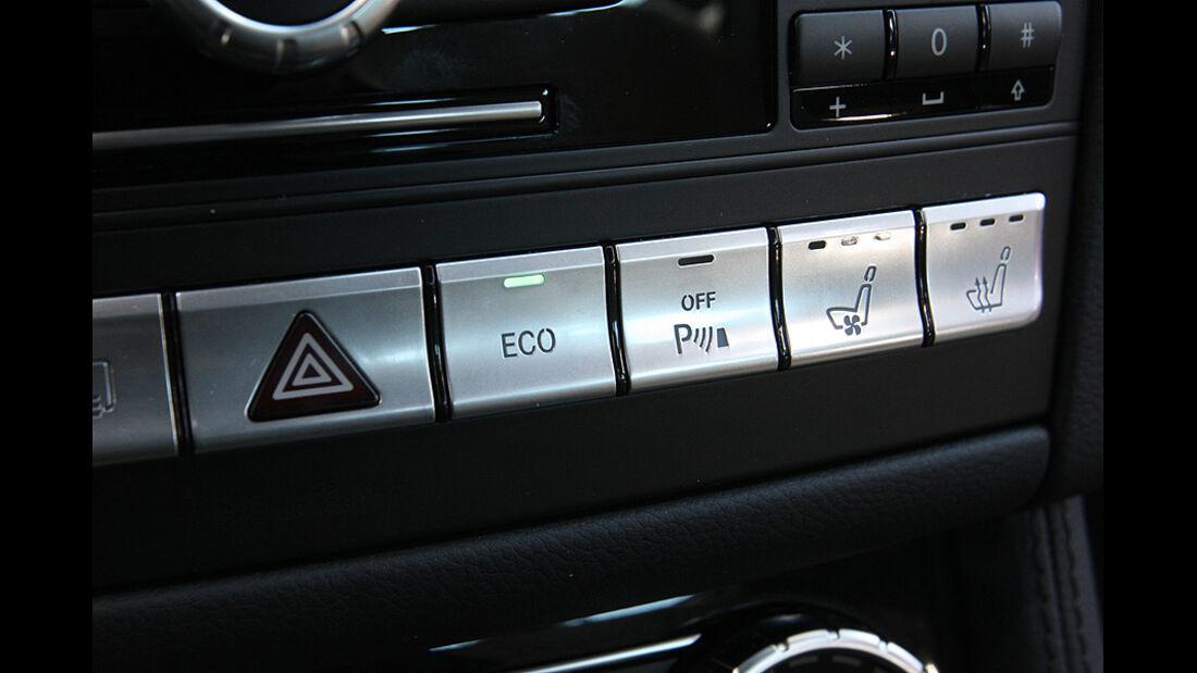 03/11 aumospo 07/2011 Mercedes CLS 350, Start-Stopp-System