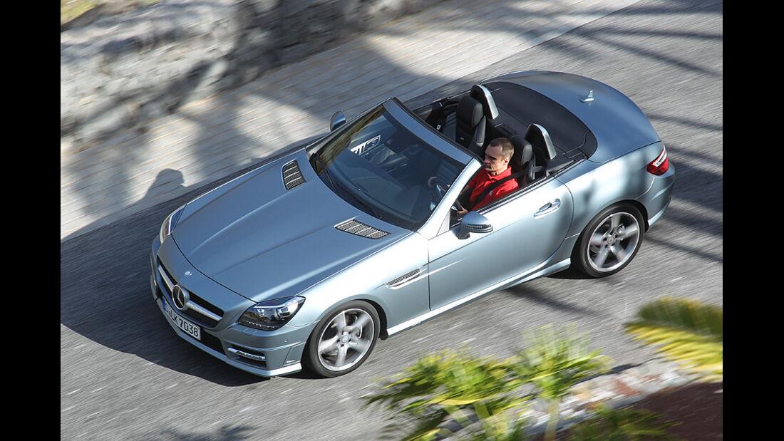 03/11 aumospo 07/2011 Mercedes SLK 350, Cabrio, Roadster