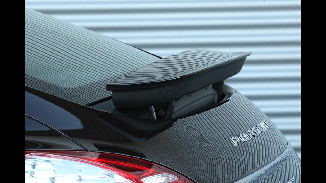 03/11 aumospo 07/2011  Porsche Panamera, Heckspoiler
