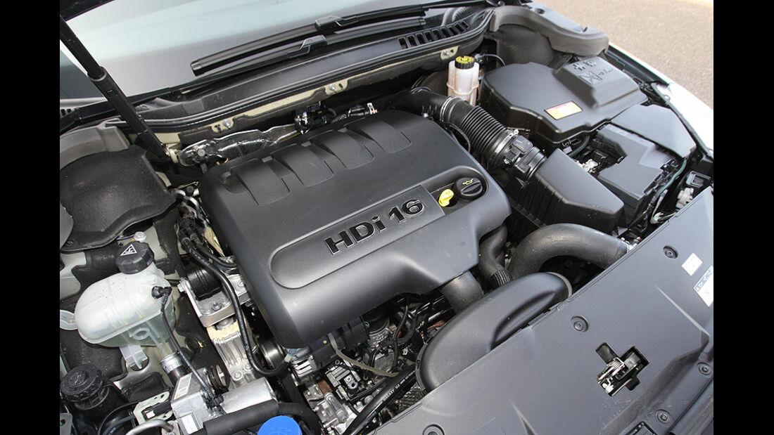 03/11 aumospo06/2011 Peugeot 508 140 Hdi, Motor